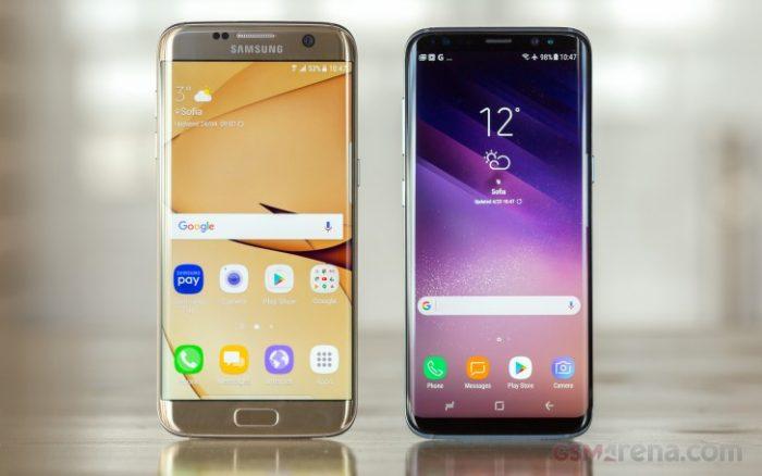 مقایسه سریع بین دوربین های گوشی های Galaxy S8 و Galaxy S7