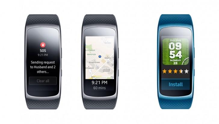 دستبند سلامتی Gear Fit 2 Samsung با قابلیت های جدید بروزرسانی شد