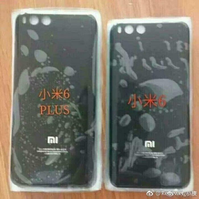 ظاهر پنل پشت Xiaomi Mi 6 Plus رویت شد