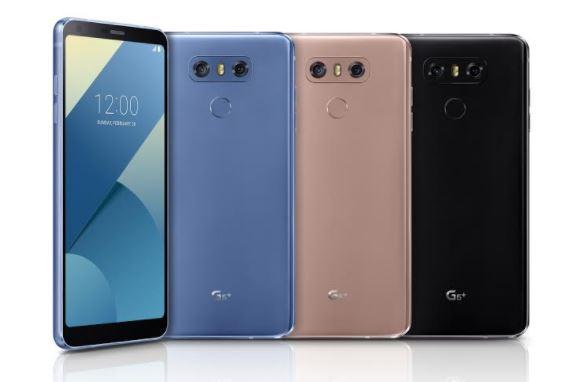 ارتقای گوشی G6 ال جی در نسخه پلاس