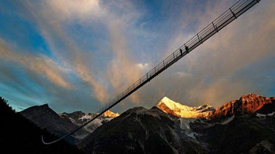 طولانی ترین و وحشتناک ترین پل معلق جهان