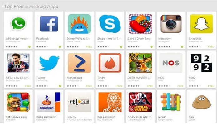 لغو دانلود خودکار ها در گوگل پلی