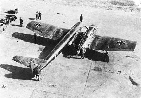 عجیب ترین هواپیمای جنگی تاریخ