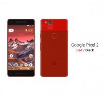 رندرهای سه بعدی Google Pixel 2 ظاهر این گوشی را در رنگ های مختلف مشخص می کند