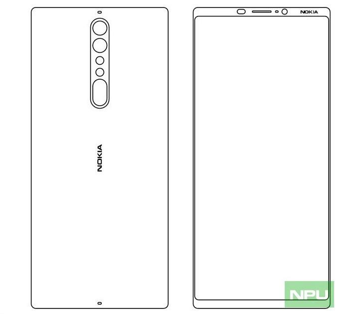 احتمال عرضه گوشی Nokia 9 که صفحه نمایشی بزرگتر از Nokia 8 خواهد داشت