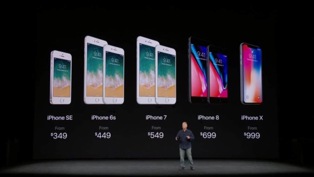 قیمت گوشی های آیفون