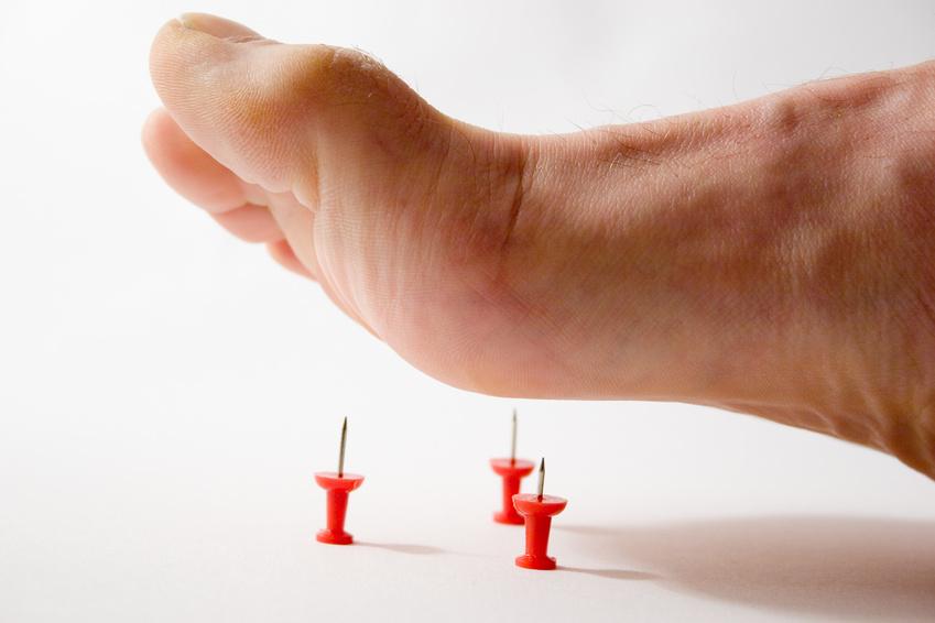 درمان ترک های پوست پا