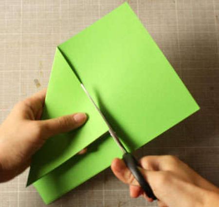 درست کردن فرفره کاغذی
