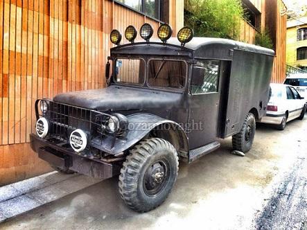 خودروی یادگار جنگ جهانی دوم در تهران