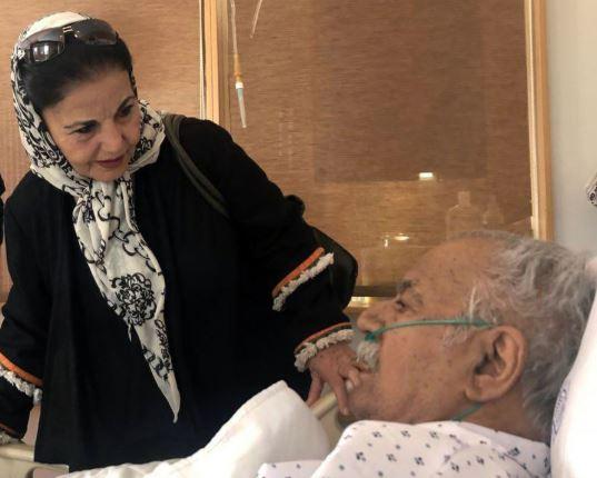 ناصر ملک مطیعی فوت کرد