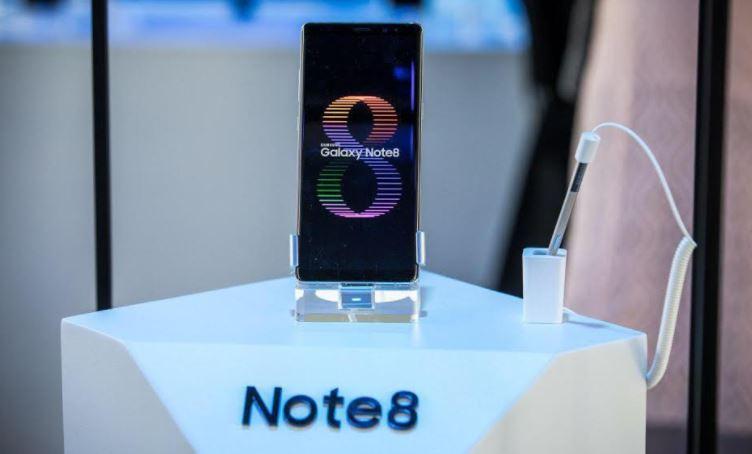رونمایی از ستاره جدید سامسونگ گلکسی Note8 در ایران