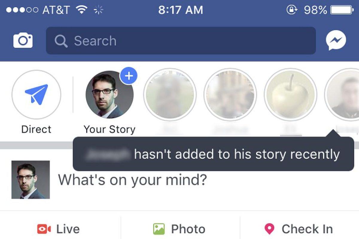 استوری در فیس بوک
