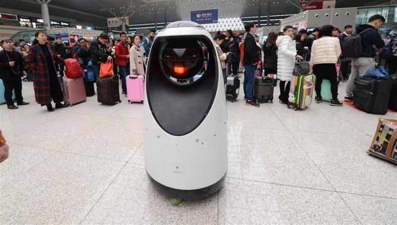 ایستگاه پلیس هوشمند در چین