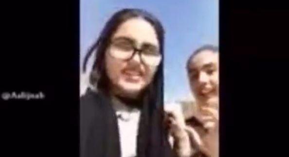 فیلم دو دختر اصفهانی قبل از خودکشی (متاثر از بازی نهنگ آبی ؟)