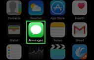 تنظیمات اس ام اس در آیفون