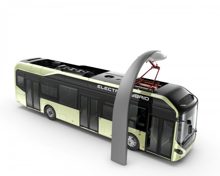 سری جدید اتوبوس های الکتریکی ولوو رونمایی شد