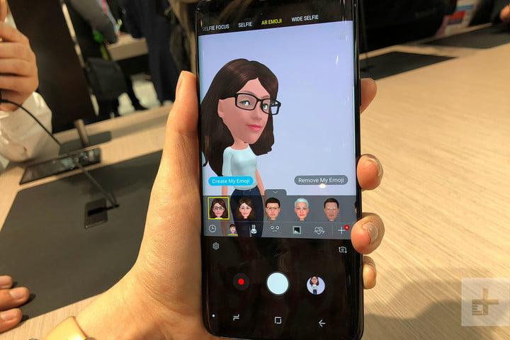 قابلیت AR Emoji در سامسونگ گلکسی اس ۹