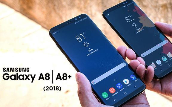 3بررسی گوشی Samsung Galaxy A8 plus