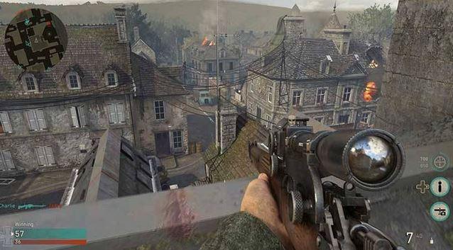 2سیستم مورد نیاز برای بازی Call of Duty WWII