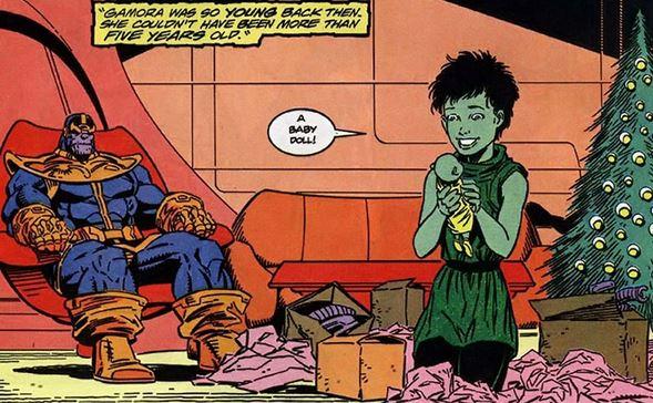 شخصیت Marvel Gamora2