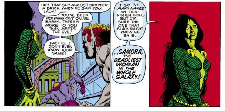 3شخصیت Marvel Gamora
