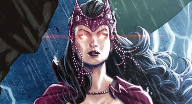 1شخصیت Marvel Scarlet witch