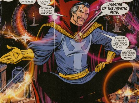 شخصیت Marvel Doctor Strange