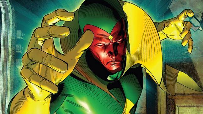 2شخصیت Marvel Vision