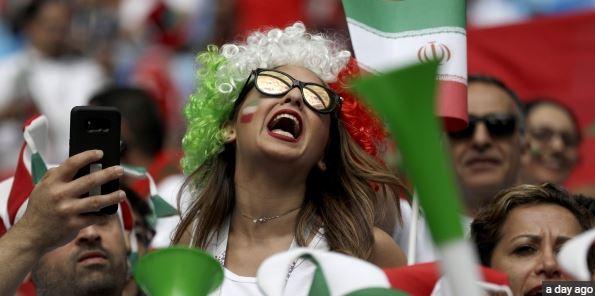 تماشاگران دختر در جام جهانی 2018