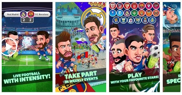 فوتبال کاریکاتوری Head Soccer La Liga