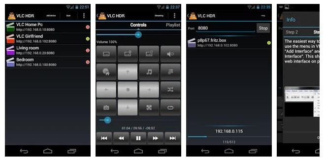 اپلیکیشن CJ VLC HD Remote