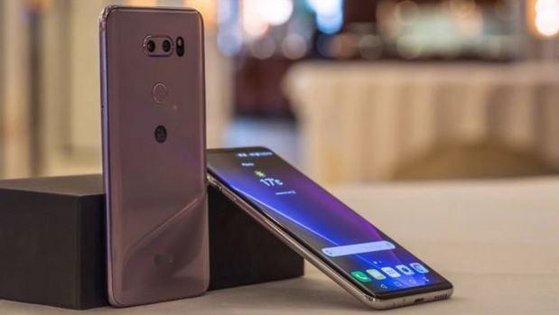 1بررسی گوشی LG V35 ThinQ