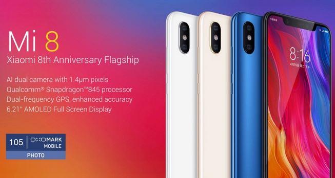 1بررسی گوشی Xiaomi Mi 8