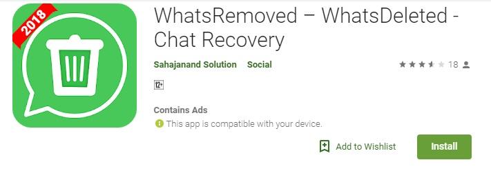 بازگردان اطلاعات در واتساپ