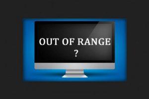 حل مشکل ارور Out Of Range مانیتور در بازی و برنامه های ویندوز ۱۰، ۸ و ۷