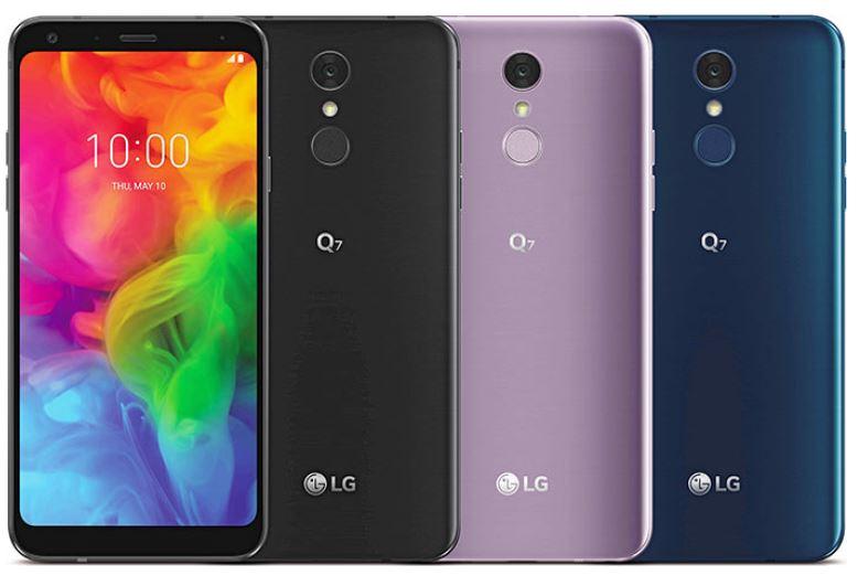 1بررسی گوشی LG Q7
