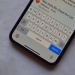 کیبورد پنهان در iOS 11