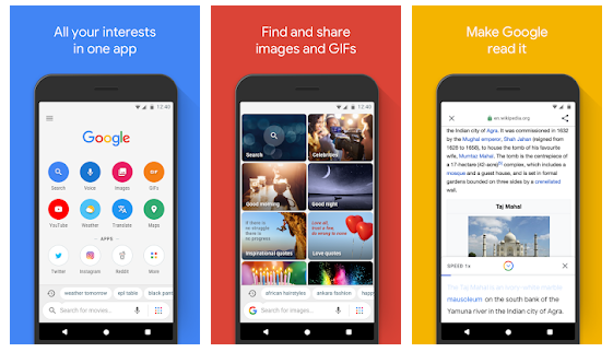 اپلیکیشن Google Go