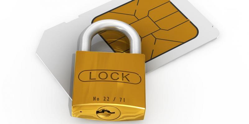قفل سیم کارت