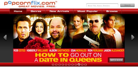 وبسایت PopcornFlix