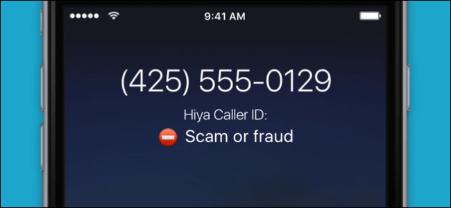 تشخیص تماس های جعلی