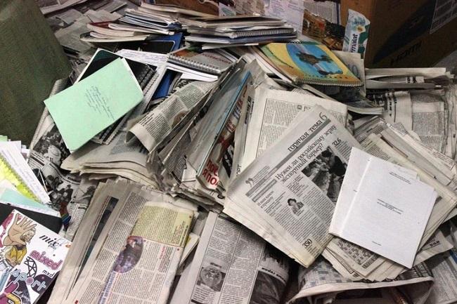بازیافت کاغذ در خانه سلامت