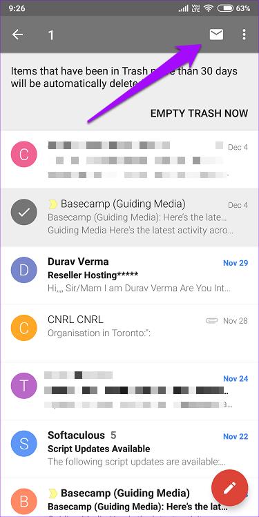 ریکاوری ایمیل