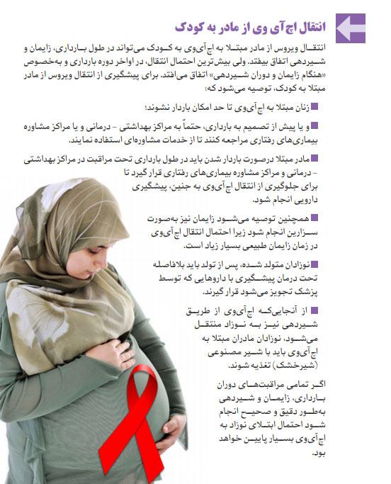 پیشگیری از انتقال ایدز از مادر به نوزاد