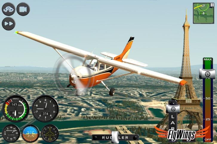 Flight Simulator Paris