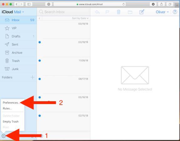 آدرس ایمیل iCloud