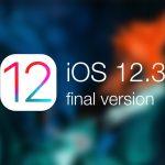 بروزرسانی iOS 12.3