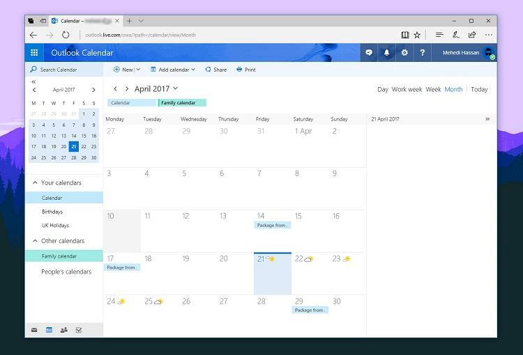 مایکروسافت ویژگی جدید مربوط به تقویم را به Outlook برای اندروید اضافه می کند