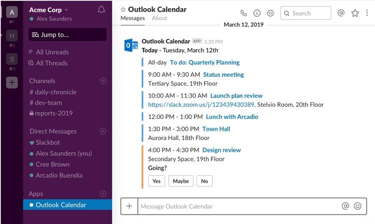 ویژگی جدید مربوط به تقویم را به Outlook برای اندروید چگونه عمل می کند؟
