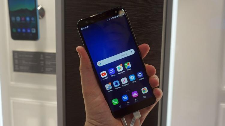مشخصات فنی گوشی جدید ال جی k40